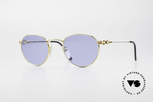 Fred Ouragan Luxury Panto Sunglasses Details