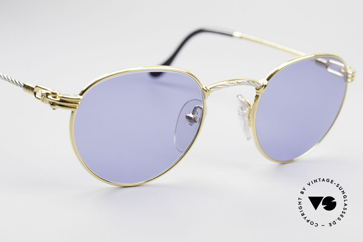 Fred Ouragan Luxury Panto Sunglasses