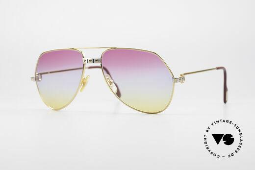 Cartier Vendome Santos - M Rare 80's Aviator Shades Details