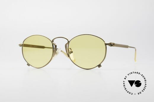 Jean Paul Gaultier 55-1171 Extraordinary Vintage Frame Details