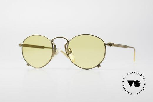 Jean Paul Gaultier 55-1171 Extraordinary Vintage Frame Details