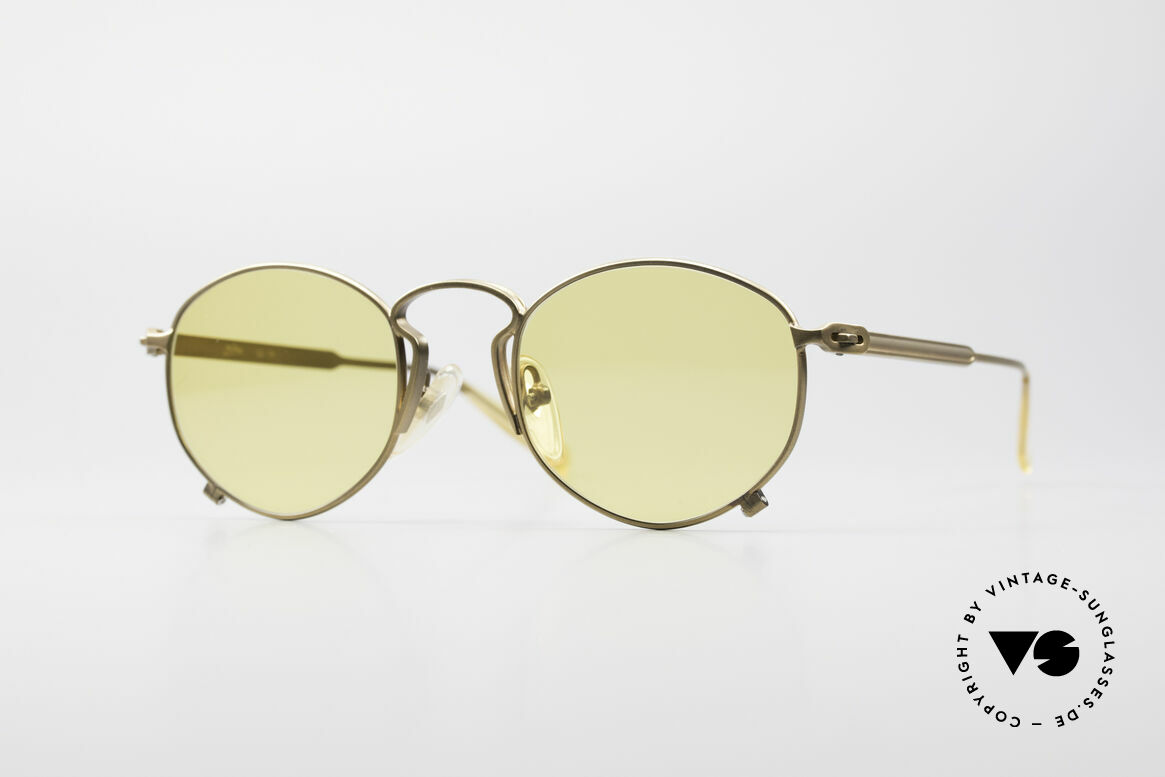 Jean Paul Gaultier 55-1171 Extraordinary Vintage Frame, interesting sunglasses by Jean Paul GAULTIER, Made for Men and Women