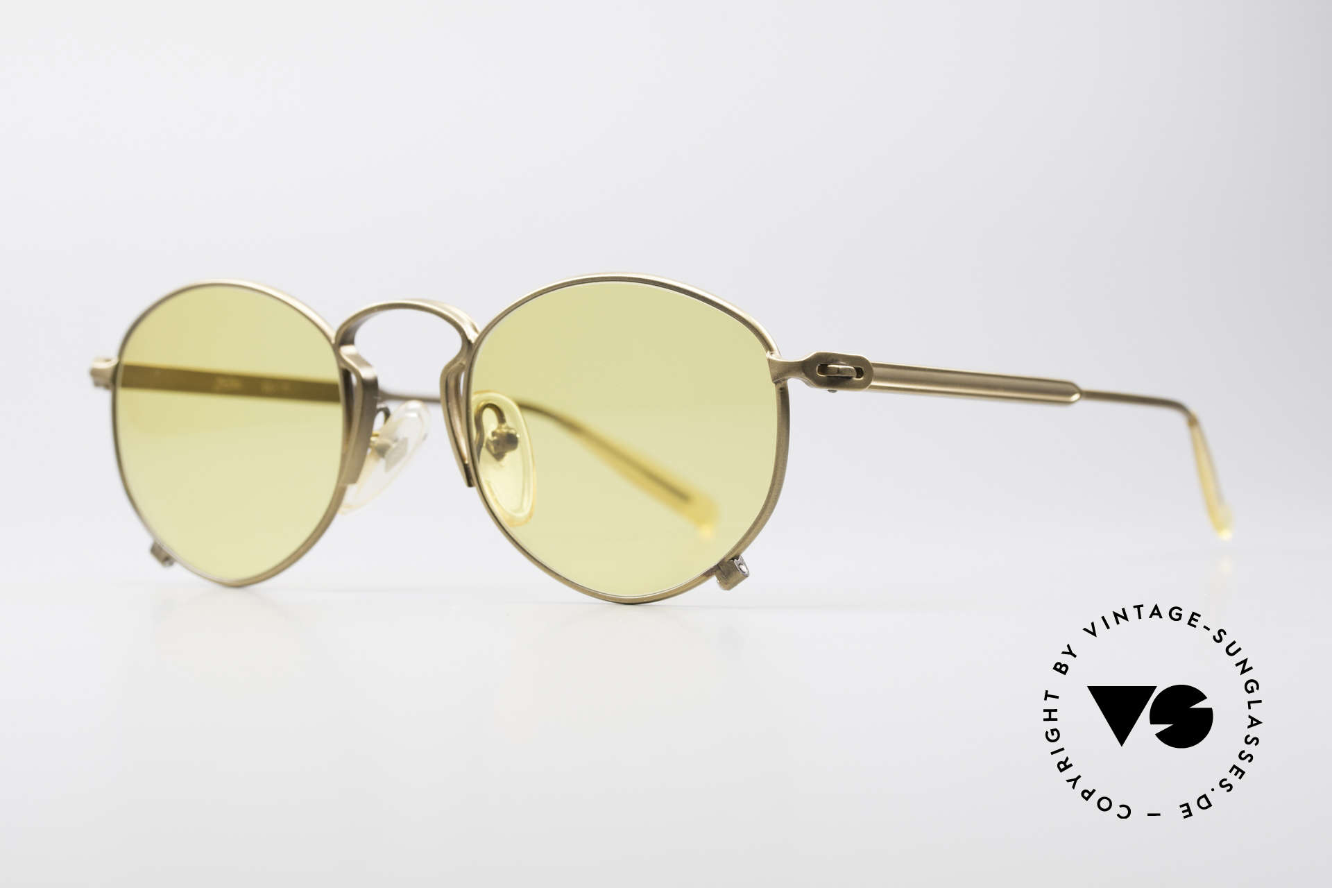 Jean Paul Gaultier 55-1171 Extraordinary Vintage Frame, surpreme crafting & surface quality from 1997, Made for Men and Women