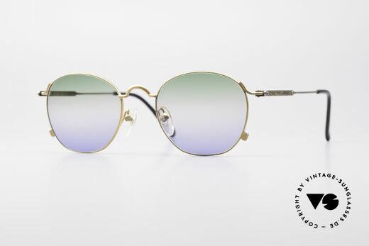 Jean Paul Gaultier 55-0171 90's Panto Sunglasses Details