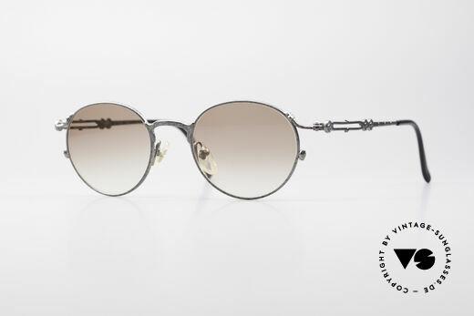 Jean Paul Gaultier 55-4177 Designer Panto Sunglasses Details