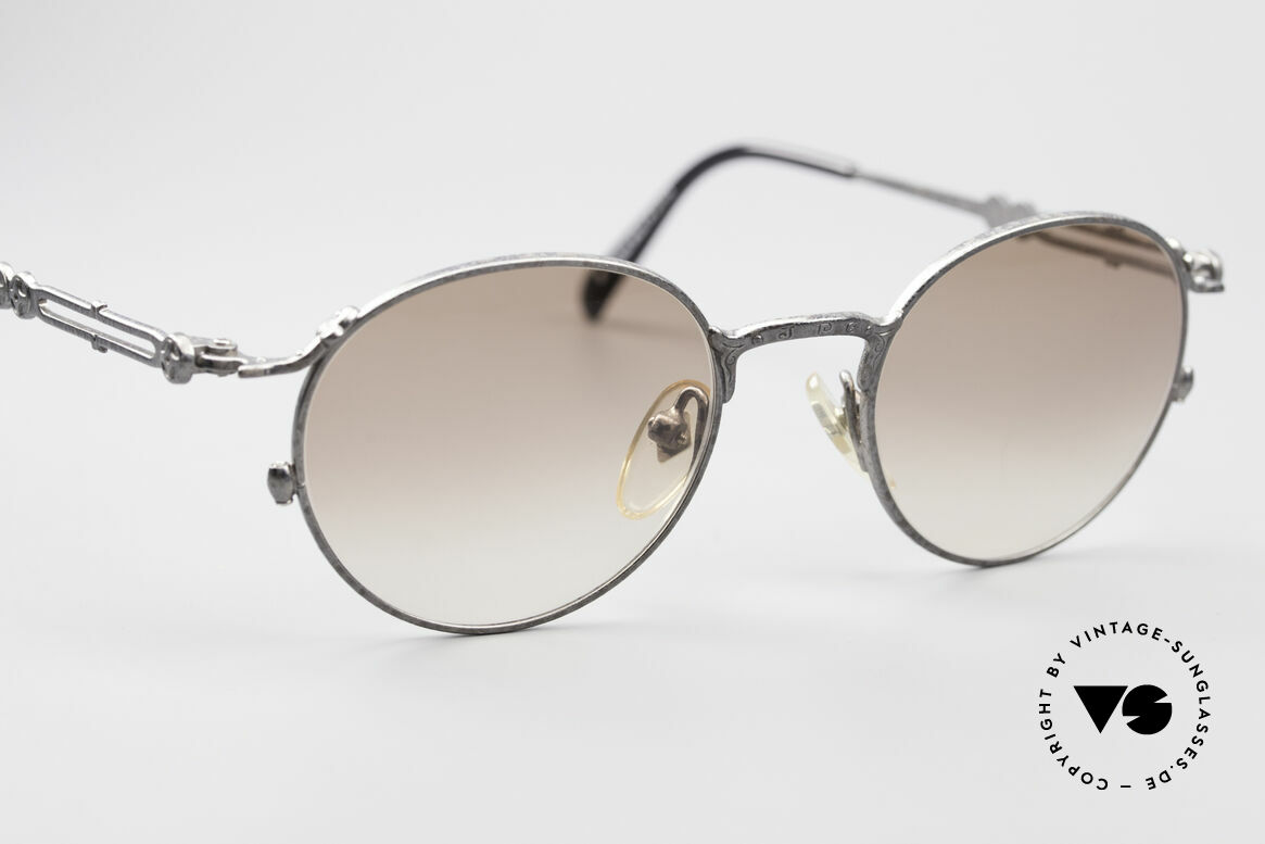 Jean Paul Gaultier 55-4177 Designer Panto Sunglasses, NO RETRO fashion; a 20 years old unique Original, Made for Men and Women
