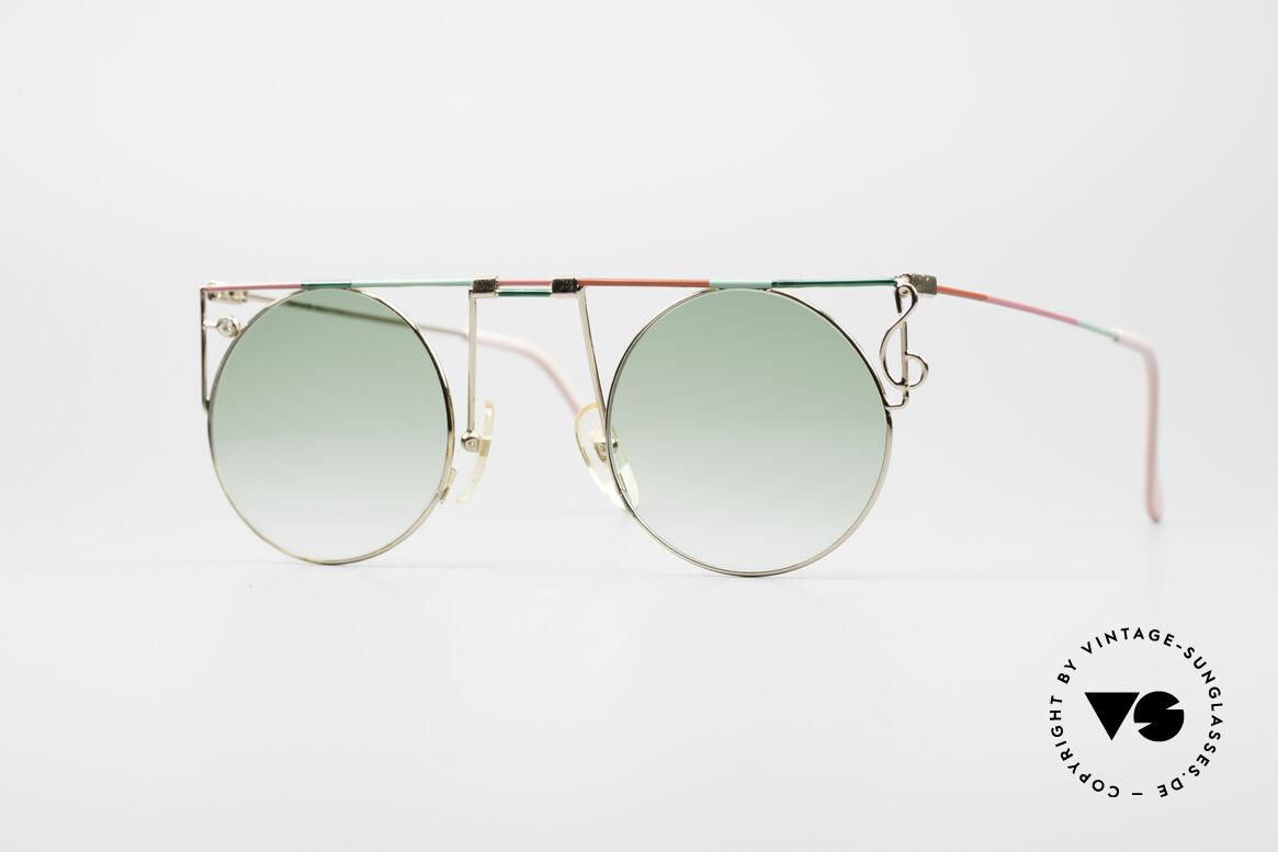 Casanova MTC 8 Artful Vintage Sunglasses, glamorous Casanova sunglasses from around 1985, Made for Women