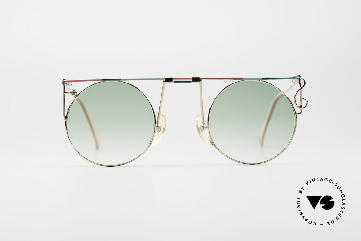 Casanova MTC 8 Artful Vintage Sunglasses, great combination of color, shape & functionality, Made for Women