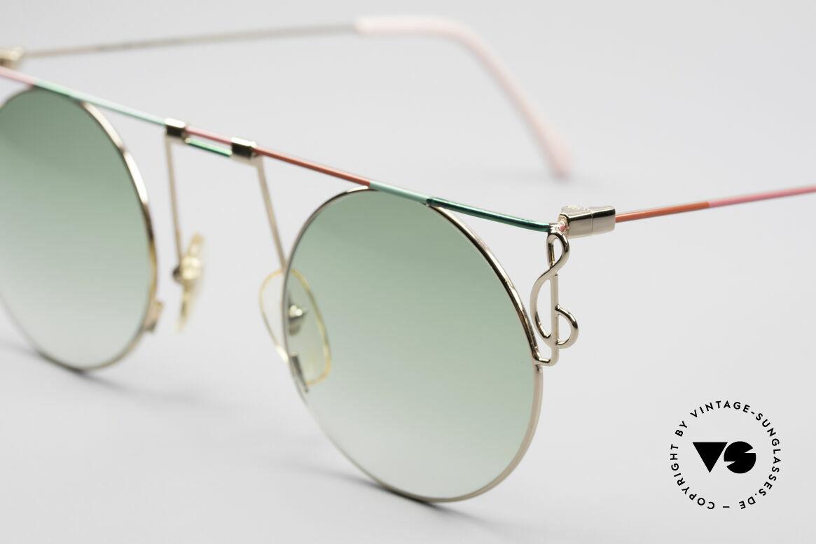 Casanova MTC 8 Artful Vintage Sunglasses, a true rarity and collector's item (a museum piece), Made for Women