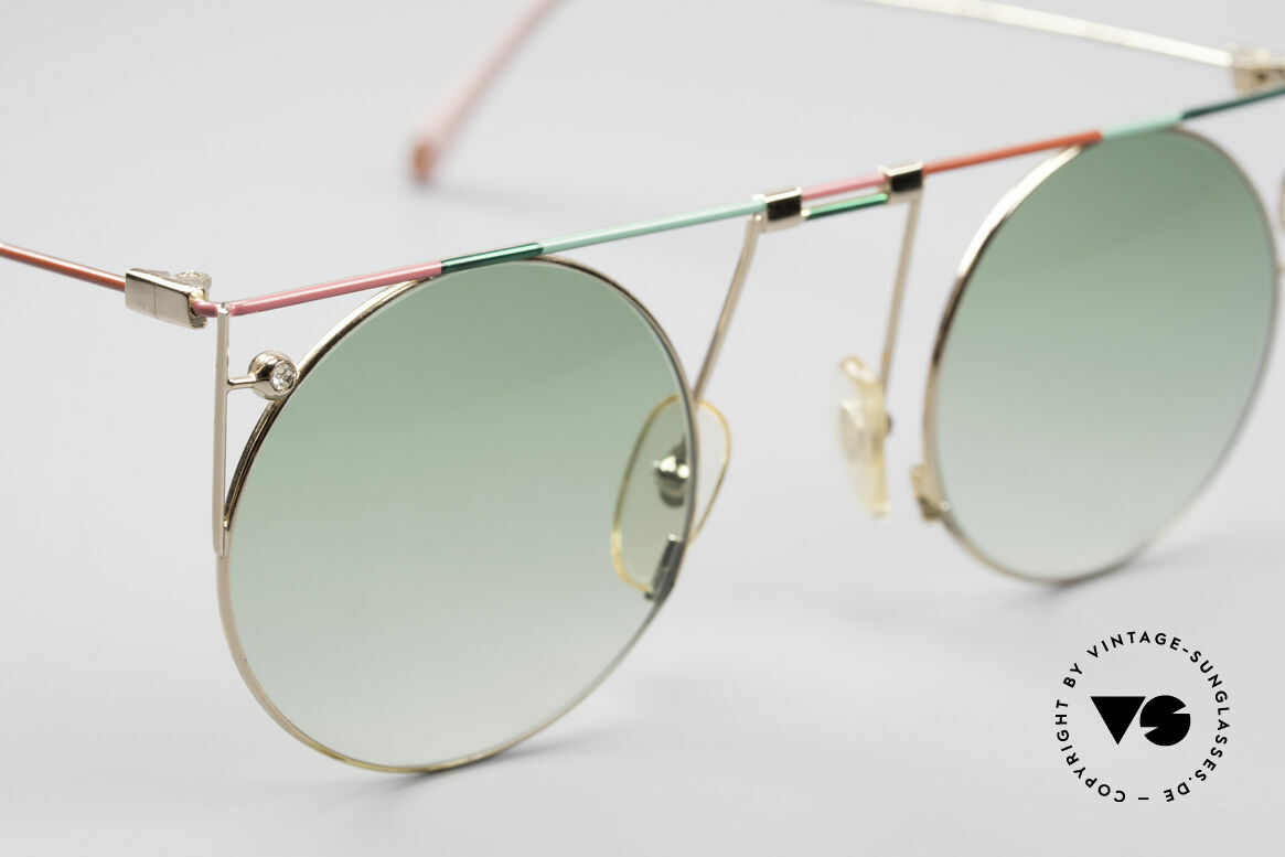 Casanova MTC 8 Artful Vintage Sunglasses, NOS - unworn (like all our artistic vintage eyewear), Made for Women