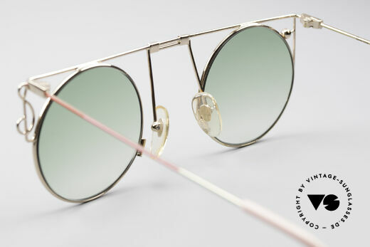 Casanova MTC 8 Artful Vintage Sunglasses, NO retro eyeglass-frame, but an unique old original, Made for Women