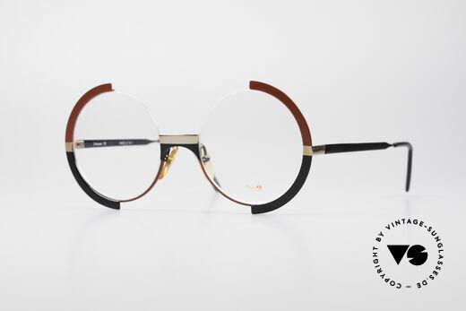 Casanova FC4 Artful 80's Eyeglasses Details
