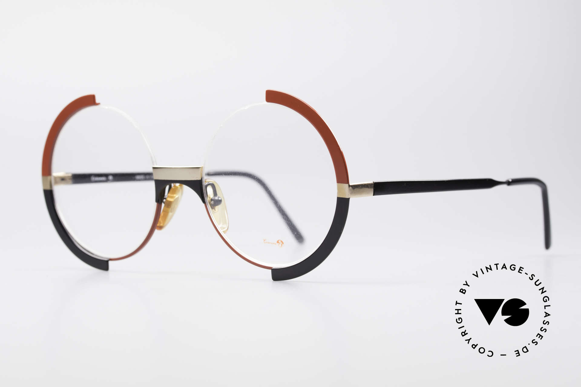 Casanova FC4 Artful 80's Eyeglasses, eye-catcher, rarity and highlight for every collector, Made for Women