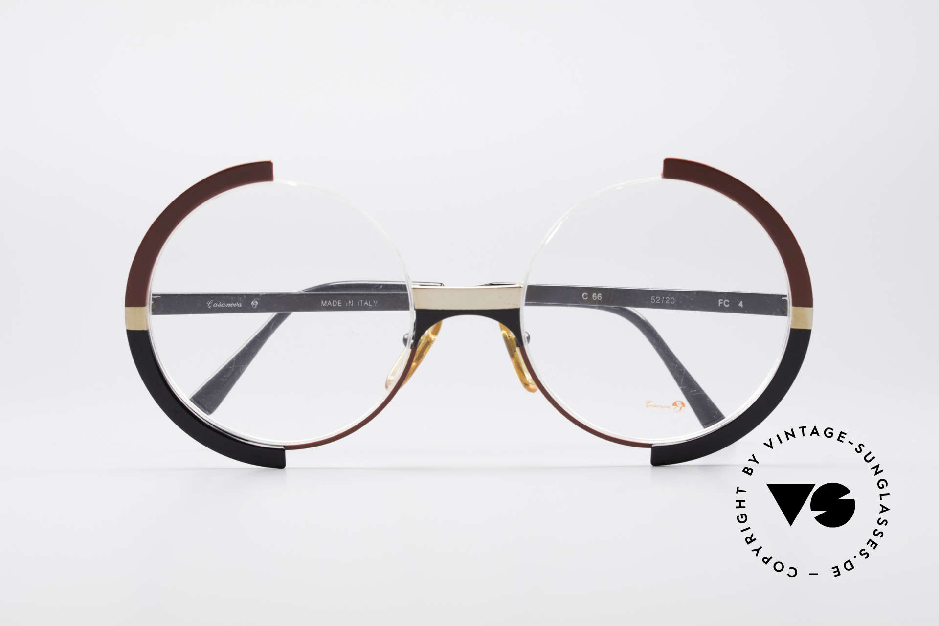 Casanova FC4 Artful 80's Eyeglasses, NO RETRO EYEGLASSES, but a true old ORIGINAL!, Made for Women