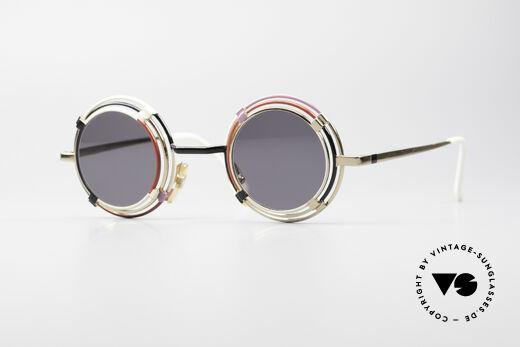 Casanova MTC 1 Round Art Sunglasses Details
