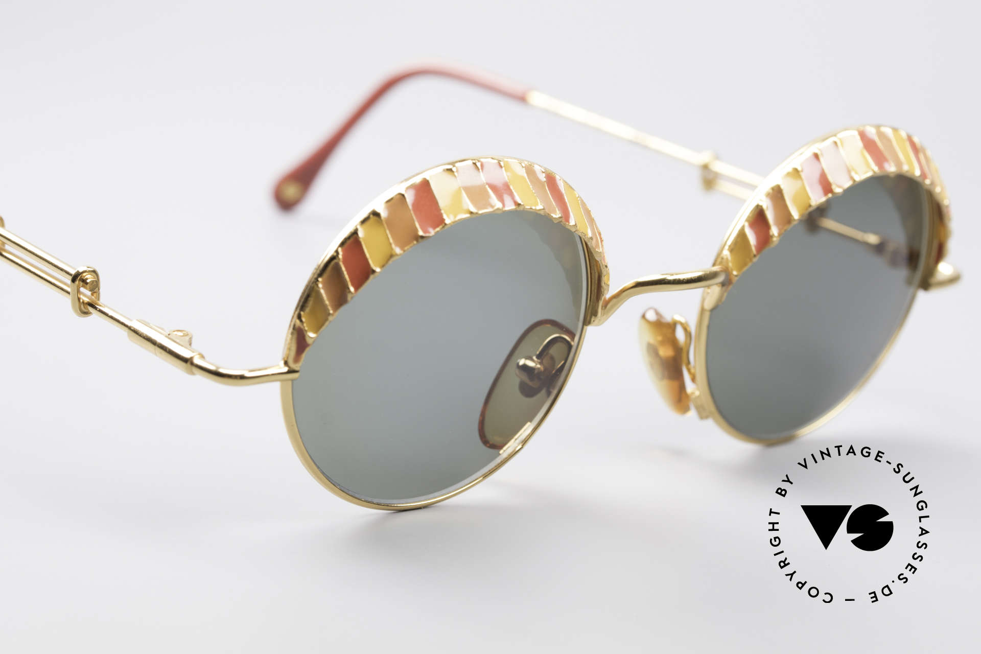 Casanova Arché 4 Limited Gold Plated Frame, rare, extravagant, valuable & in top quality (24Kt GP), Made for Men and Women