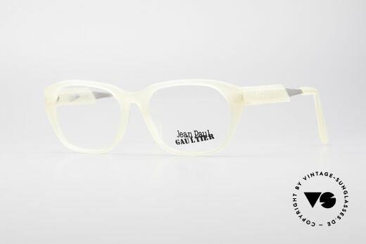 Jean Paul Gaultier 55-1071 Translucent Vintage Frame Details