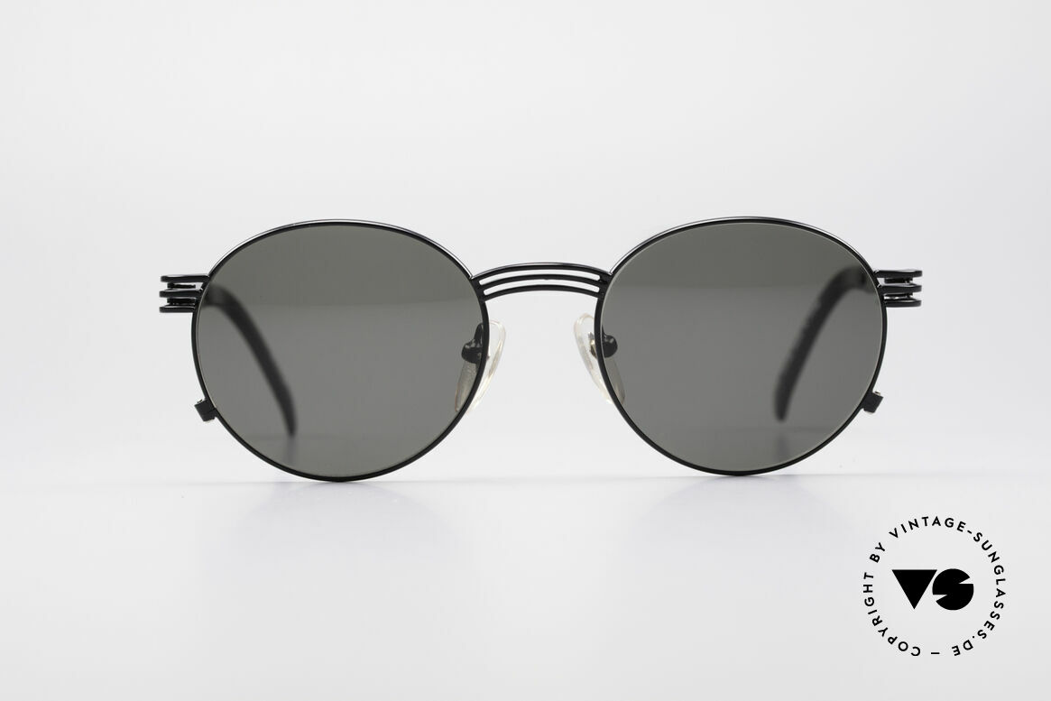 Jean Paul Gaultier 55-3174 Designer Fork Sunglasses, the temples are shaped like a fork (typically unique JPG), Made for Men and Women
