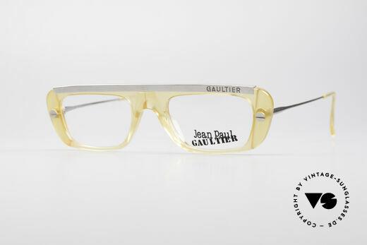Jean Paul Gaultier 55-0771 Striking Vintage JPG Frame Details