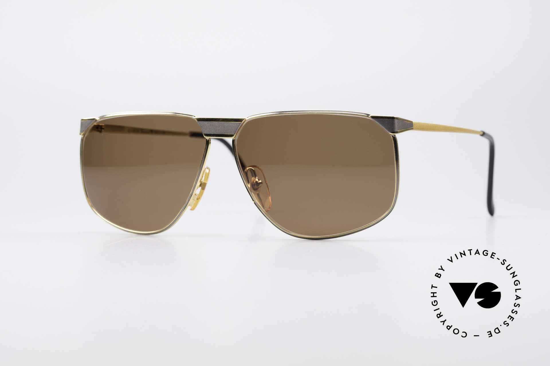 Casanova NM7 24KT Gold Plated Shades, rare vintage Casanova sunglasses from the 1980's, Made for Men and Women