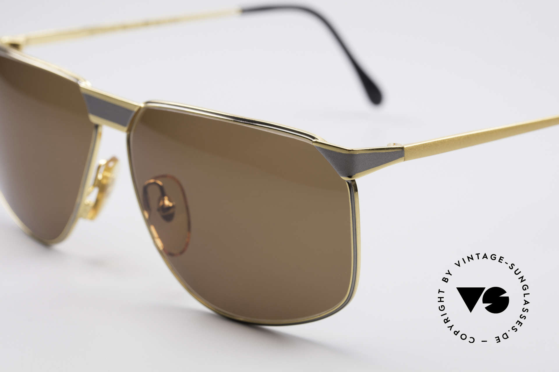 Casanova NM7 24KT Gold Plated Shades, unworn (like all our valuable old 80's sunglasses), Made for Men and Women