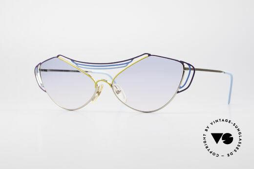 Casanova LC9 80's Art Sunglasses Details