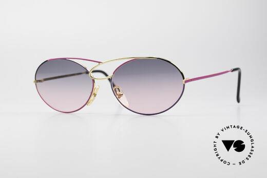 Casanova LC17 Vintage Ladies Sunglasses Details