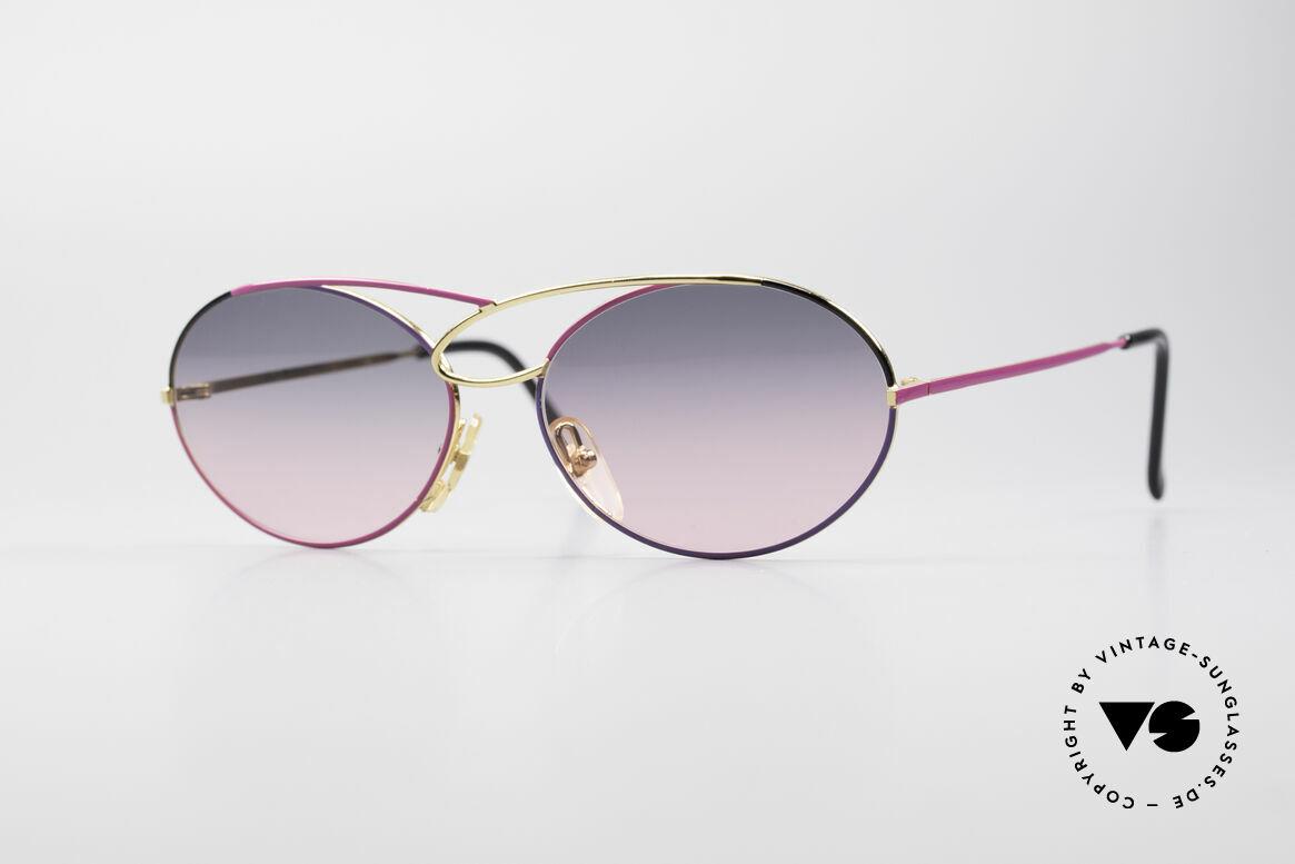 Casanova LC17 Vintage Ladies Sunglasses, glamorous CASANOVA sunglasses from around 1985, Made for Women