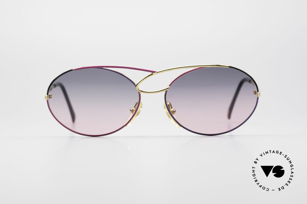 Casanova LC17 Vintage Ladies Sunglasses, fantastic combination of color, shape & functionality, Made for Women