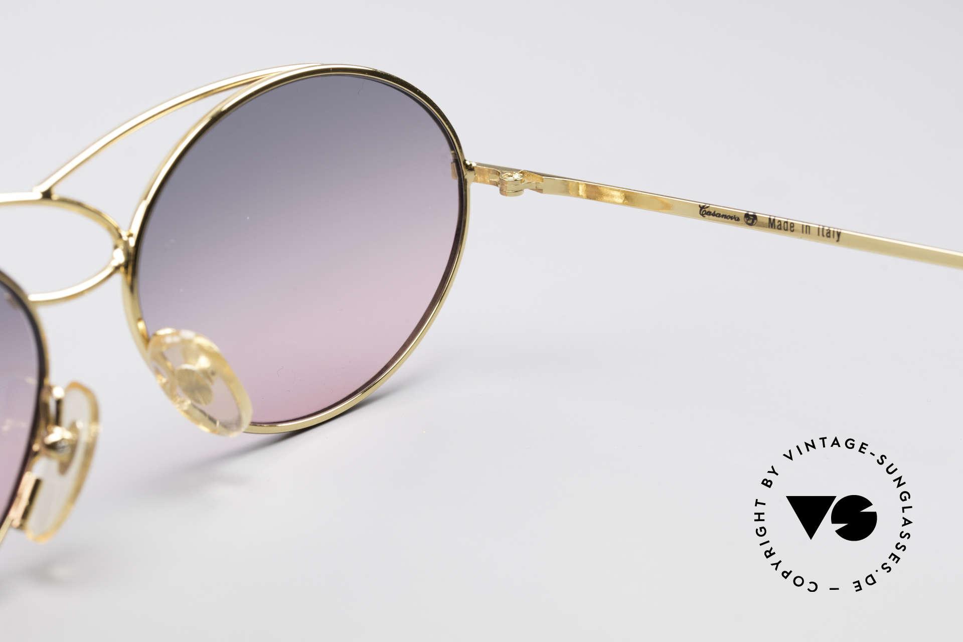 Casanova LC17 Vintage Ladies Sunglasses, NO retro shades, but a unique old designer ORIGINAL, Made for Women