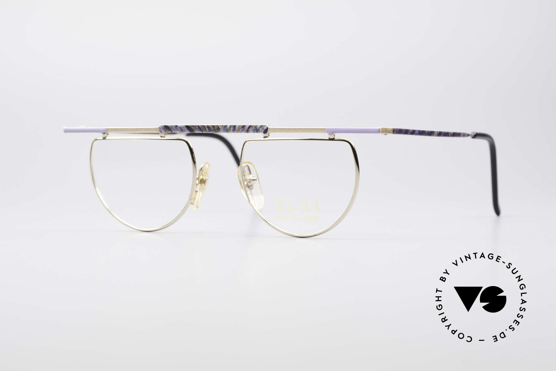 Taxi 223 by Casanova Vintage Art Eyeglasses, lively Taxi by Casanova vintage eyeglasses from the 80's, Made for Women