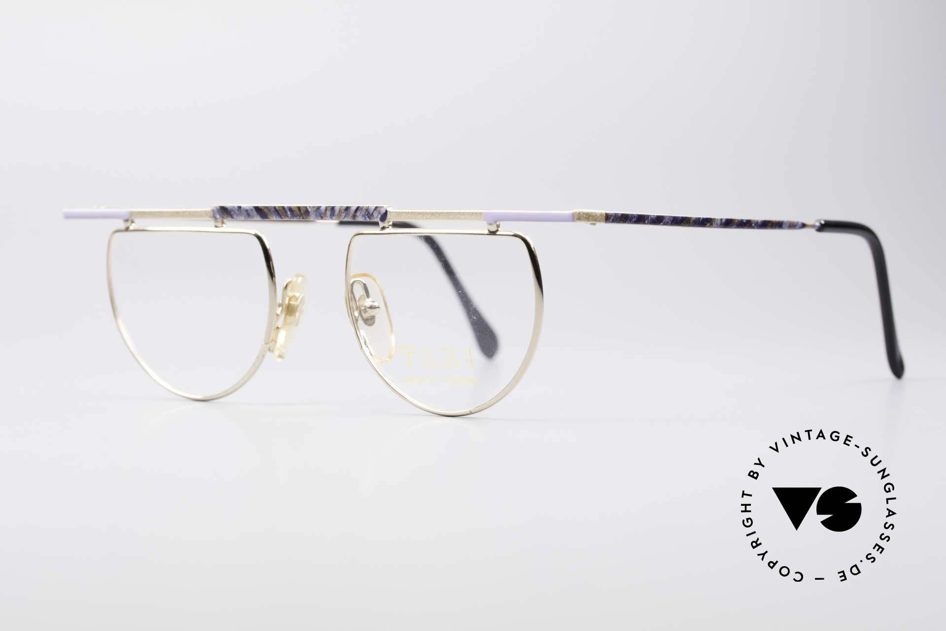 Taxi 223 by Casanova Vintage Art Eyeglasses, model represents the exuberance of the Venetian carnival, Made for Women