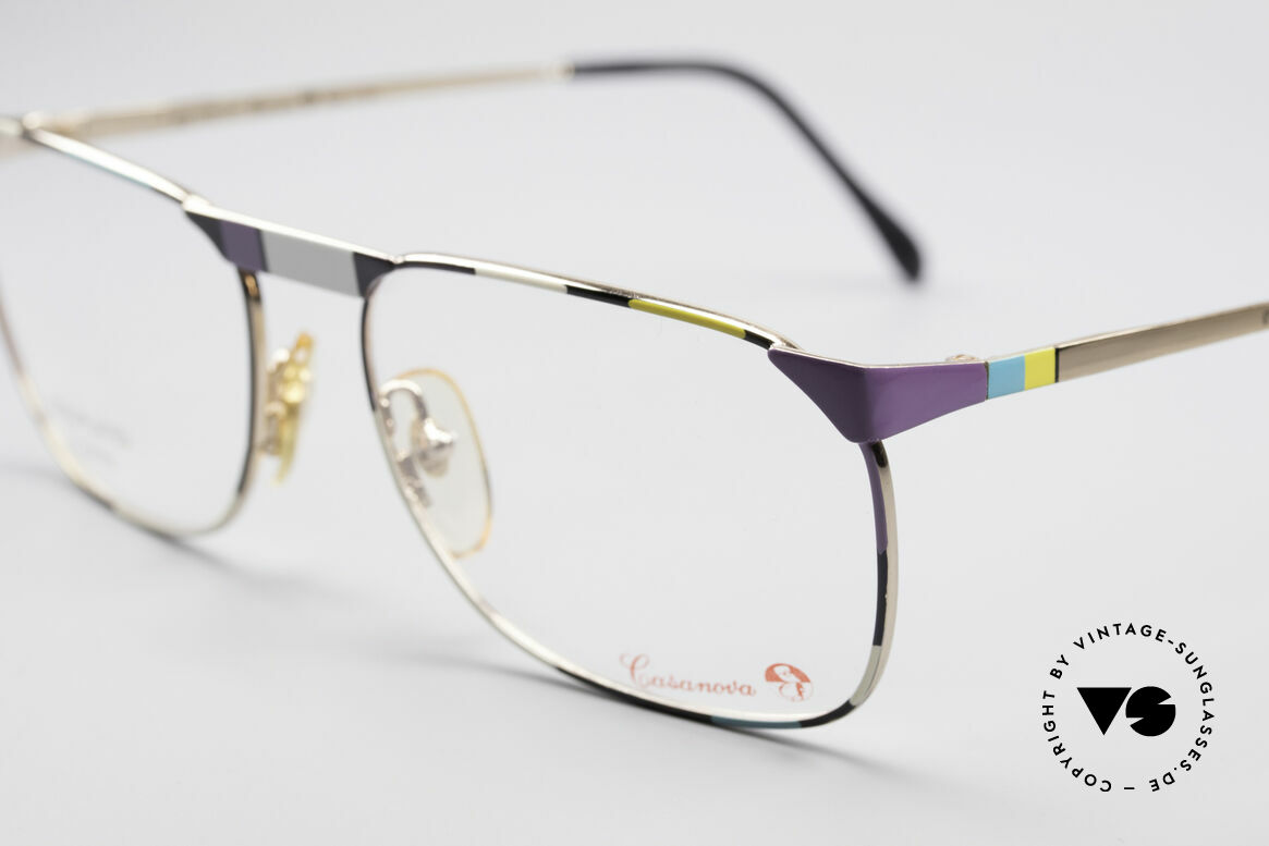 Casanova MC3 24KT Gold Plated Glasses, unworn (like all our valuable old 80's eyeglasses), Made for Men and Women