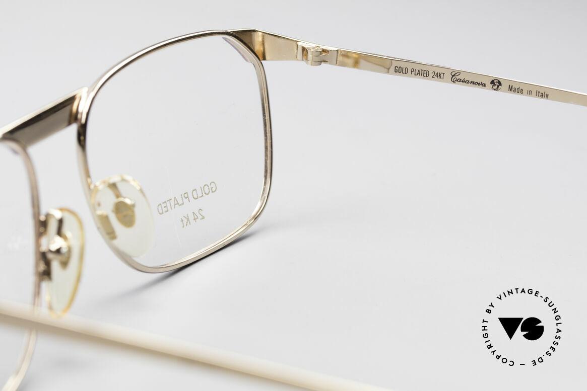 Casanova MC3 24KT Gold Plated Glasses