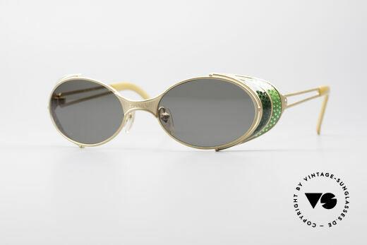 Jean Paul Gaultier 56-7109 Steampunk Sunglasses Details