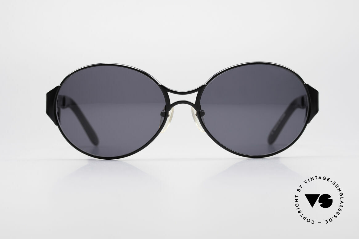 Jean Paul Gaultier 56-6108 90's Ladies Sunglasses, phenomenal design all around the temples, Made for Women