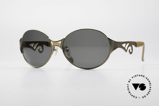 Jean Paul Gaultier 56-6108 Vintage Ladies Sunglasses Details