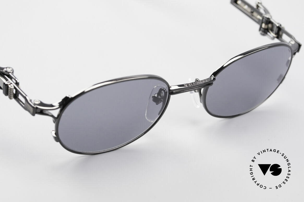 Jean Paul Gaultier 56-0020 Oval Belt Buckle Frame, NO retro glasses, but a true 20 years old Original!, Made for Men