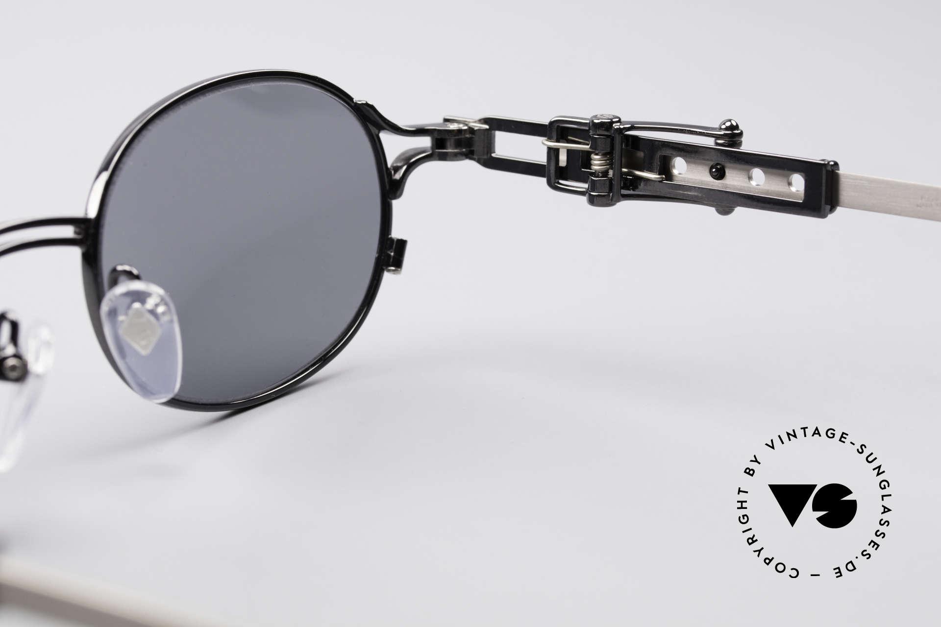Jean Paul Gaultier 56-0020 Oval Belt Buckle Frame, Size: medium, Made for Men