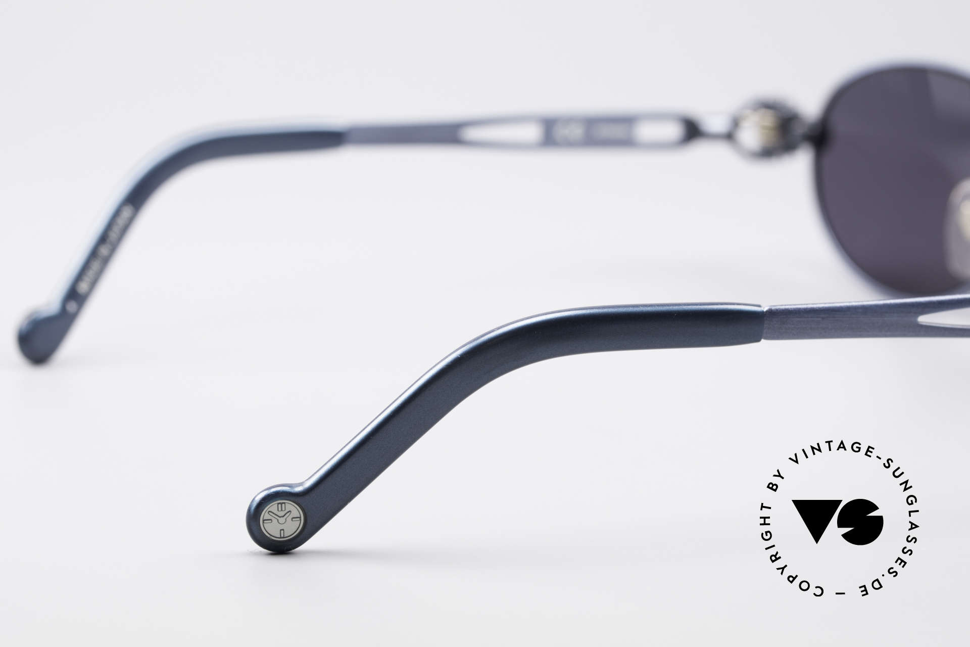Jean Paul Gaultier 56-8102 Oval Industrial Sunglasses, Size: medium, Made for Men and Women