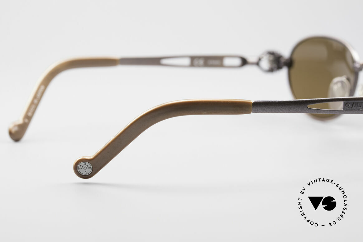 Jean Paul Gaultier 56-8102 Oval Steampunk Sunglasses, Size: medium, Made for Men and Women