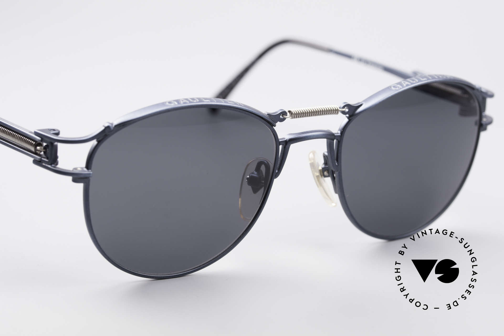 Jean Paul Gaultier 56-5107 Panto Designer Sunglasses, NO retro, but an unique vintage original from 1997, Made for Men and Women