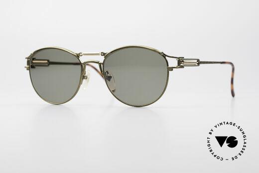 Jean Paul Gaultier 56-5107 Steampunk Panto Sunglasses Details