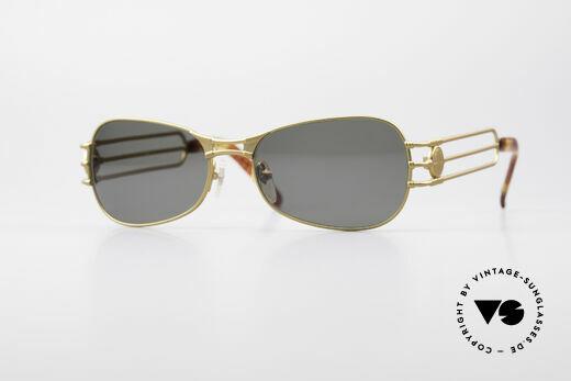 Jean Paul Gaultier 58-5107 No Retro 90's Sunglasses Details