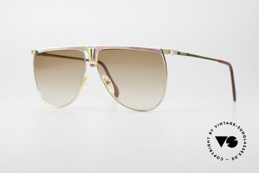 AVUS 2-100 80's Designer Sunglasses Details