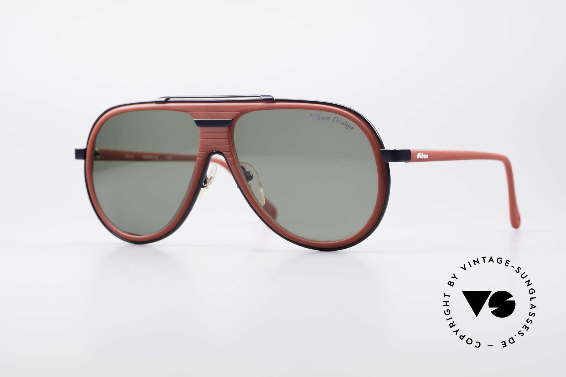 Nikon NK4800 Rare 80's Premium Shades, 80's vintage designer sunglasses by Nikon (Japan), Made for Men