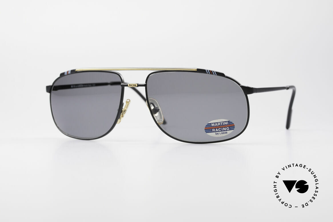 Martini Racing - Tenere Motorsport Sunglasses, in the 1970s, Martini became famous in connection with, Made for Men