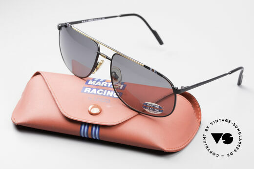 Martini Racing - Tenere Motorsport Sunglasses, with the distinctive dark blue, light blue and red stripes, Made for Men