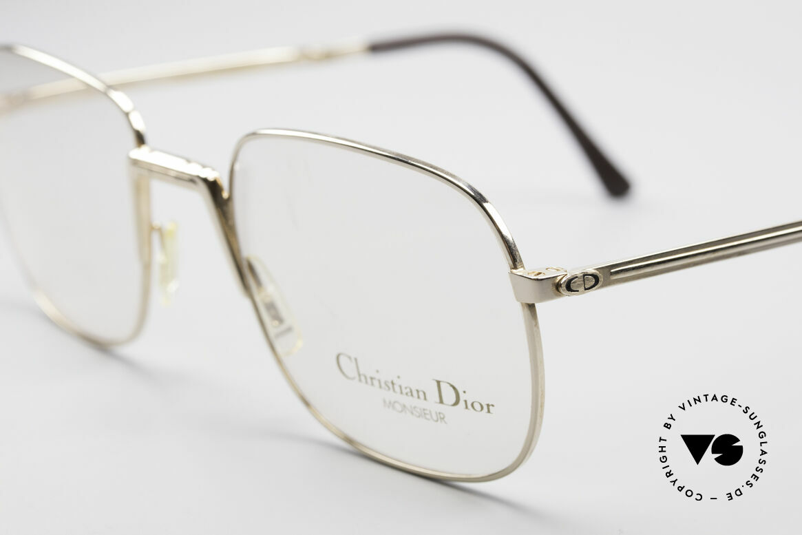 Christian Dior 2288 Monsieur Folding Eyeglasses, unworn (like all our vintage C. Dior designer eyewear), Made for Men