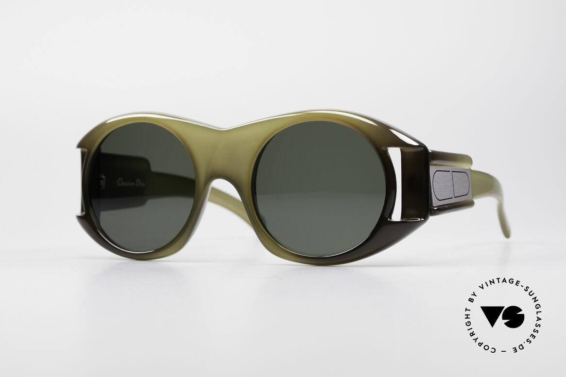 Christian Dior C61 Rare 70's Optyl Sunglasses, terrific CHRISTIAN DIOR designer sunglasses from 1974, Made for Men and Women